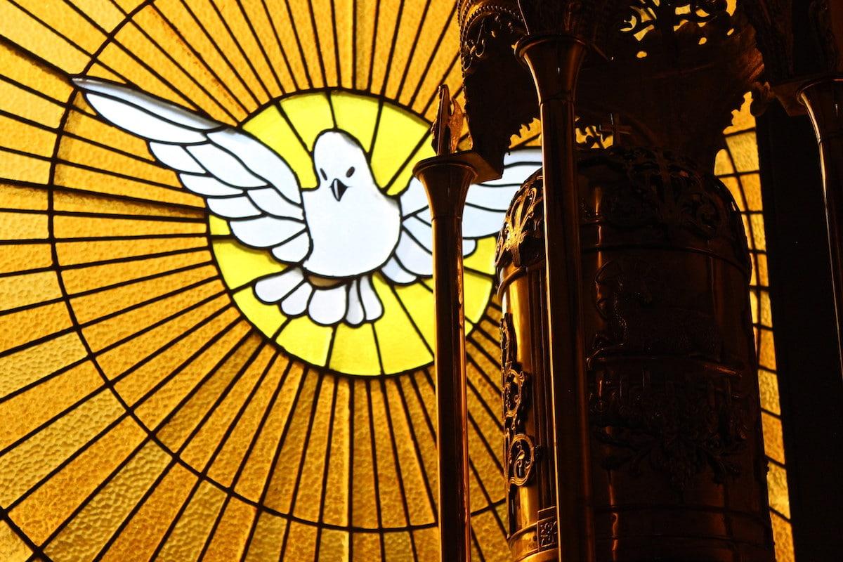 Representación del Espíritu Santo. Foto: Cathopic