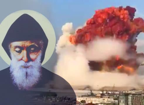 Oración a san Charbel por las víctimas de la explosión en Líbano