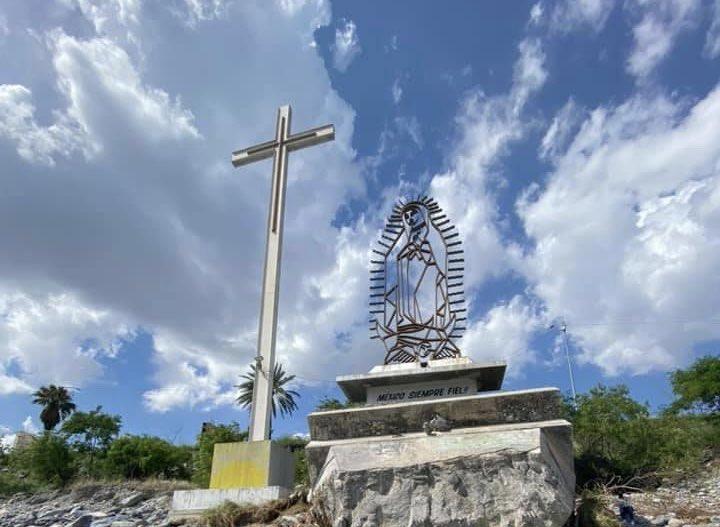 La imagen réplica será trasladado al atrio de la Parroquia Reina de México. Foto: Pastoral Siglo XXI Monterrey.
