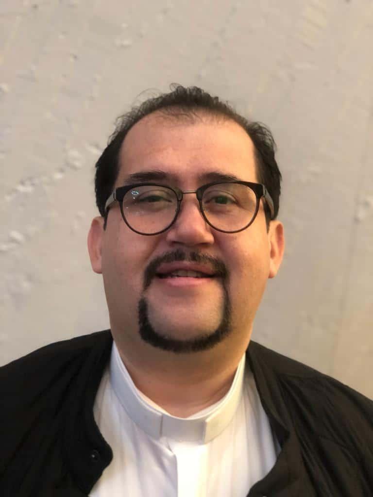 P. José Alberto Tapia Suárez, encargado del Diaconado Permanente