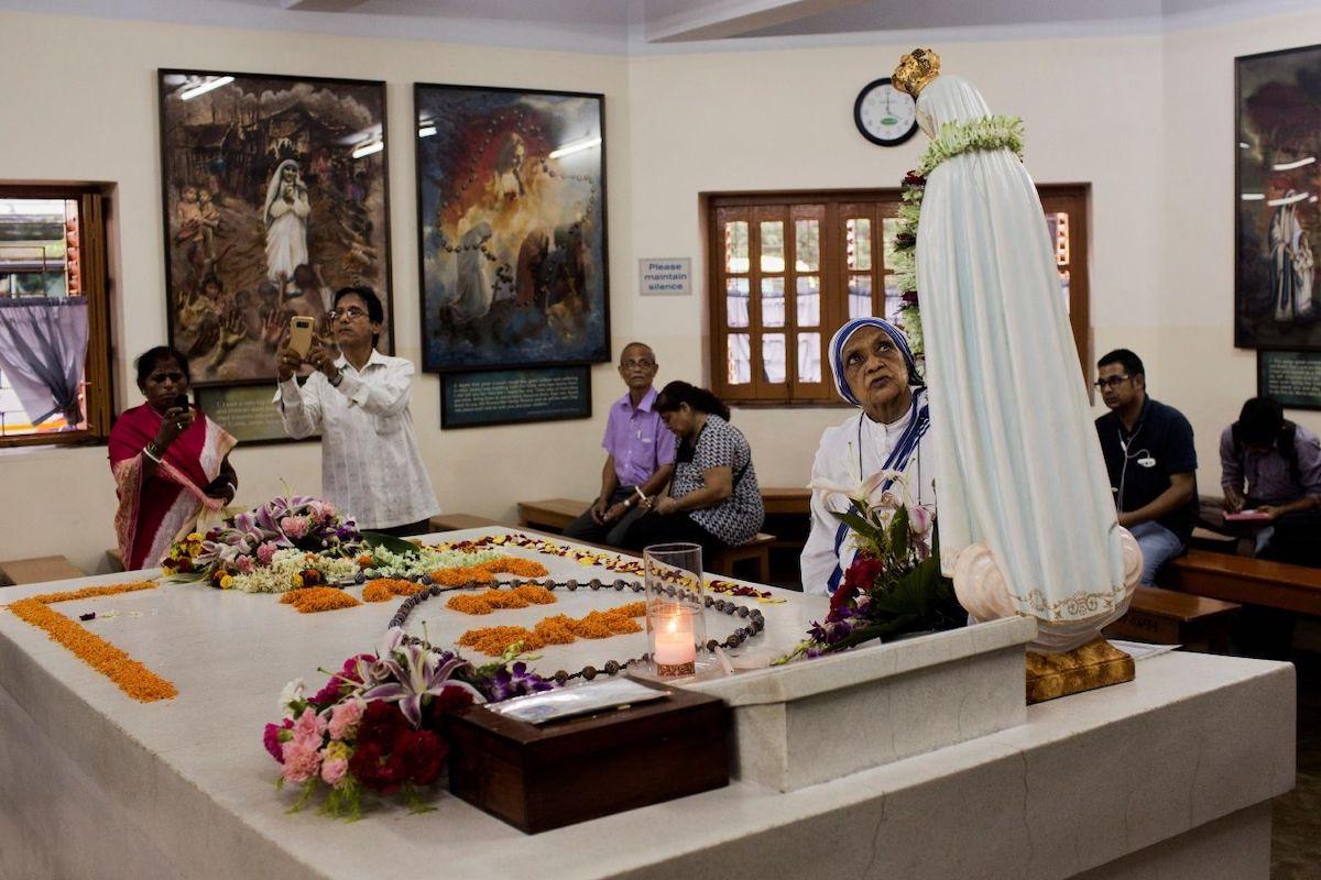 Tumba de la Madre Teresa de Calcuta