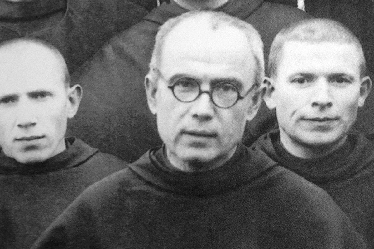 Maximiliano Kolbe, patrono de los comunicadores y de los radioaficionados.