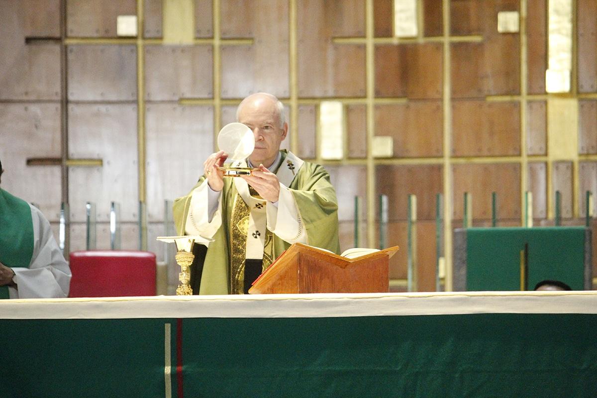 El Arzobispo Primado de México, Carlos Aguiar Retes. Foto: Basílica de Guadalupe.