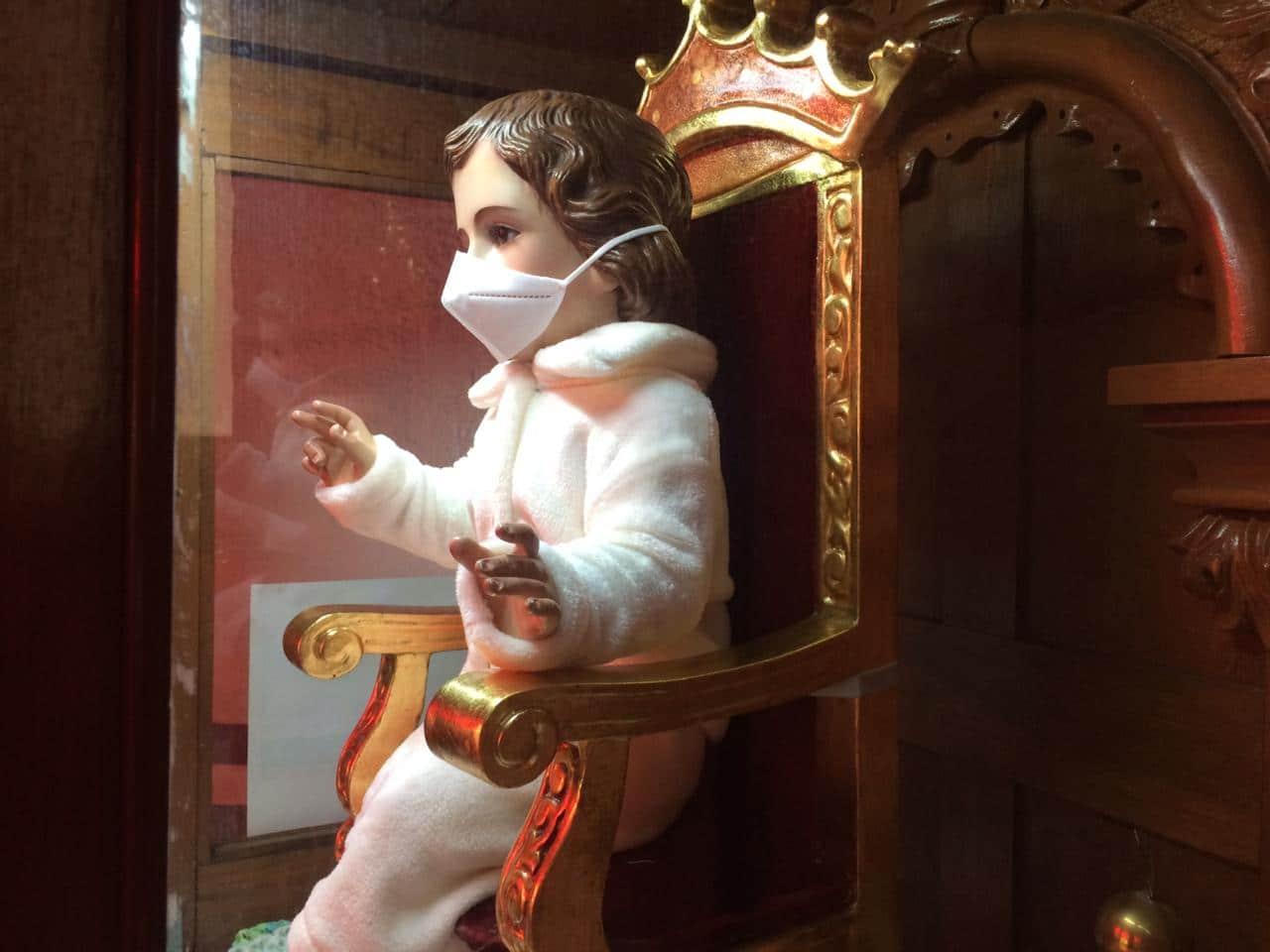 Niño Dios de la parroquia San Gabriel Arcángel (Tacuba)