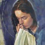 Pintura provida de la Virgen María resalta la historia de millones de bebés