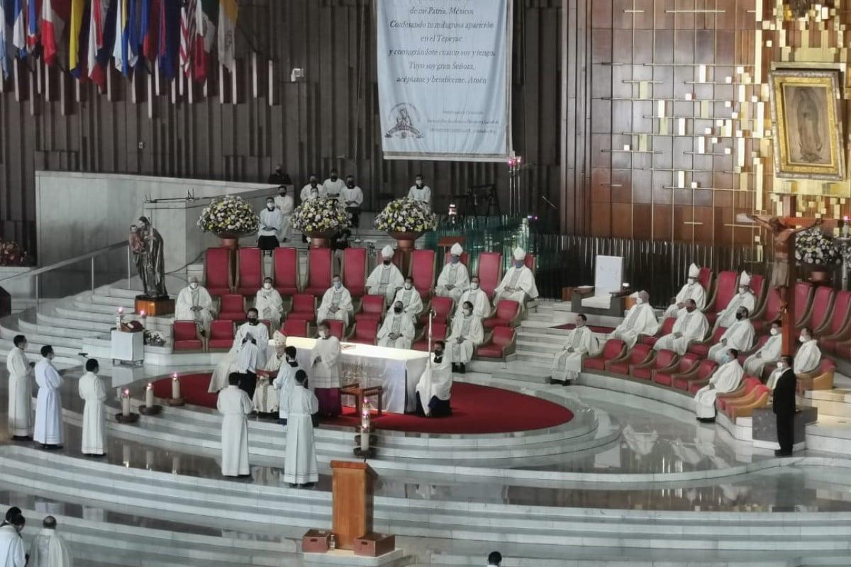En la fiesta del santo Cura de Ars, fueron ordenados 5 diáconos transitorios en la Arquidiócesis de México. Foto: Javier Rodríguez