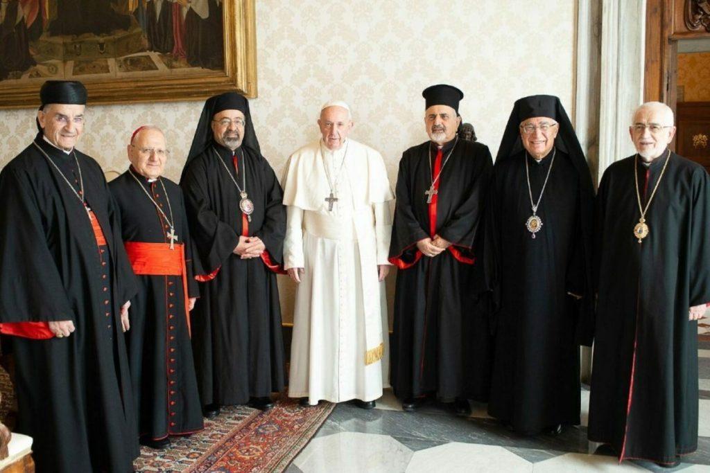 La Iglesia Maronita es una de las 24 Iglesia rituales autónomas católicas. Foto: Vatican Media