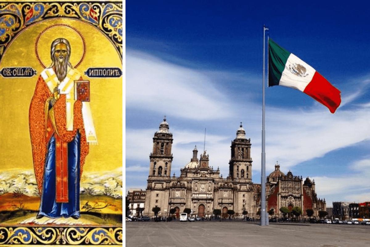 San Hipólito es patrono de la Ciudad de México.