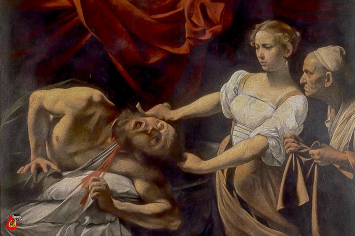 El martirio de San Juan Bautista.