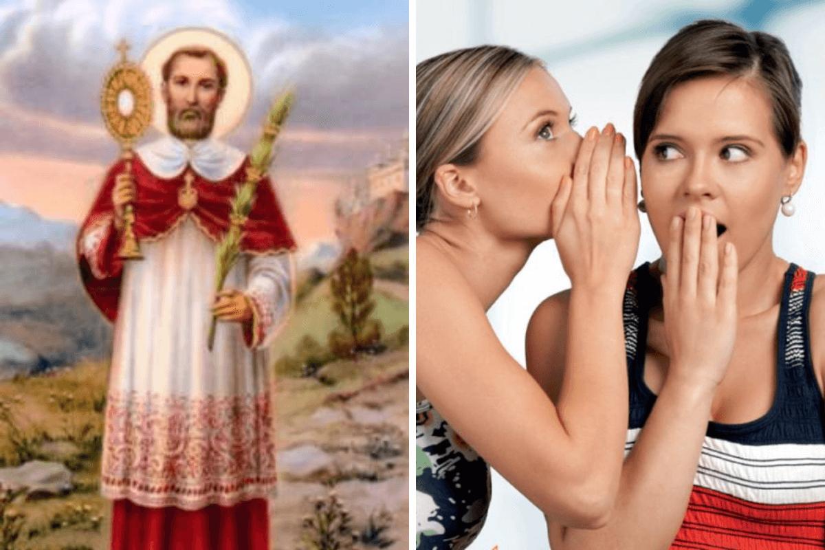 San Ramón Nonato es intercesor ante rumores, mentiras y falsos testimonios.