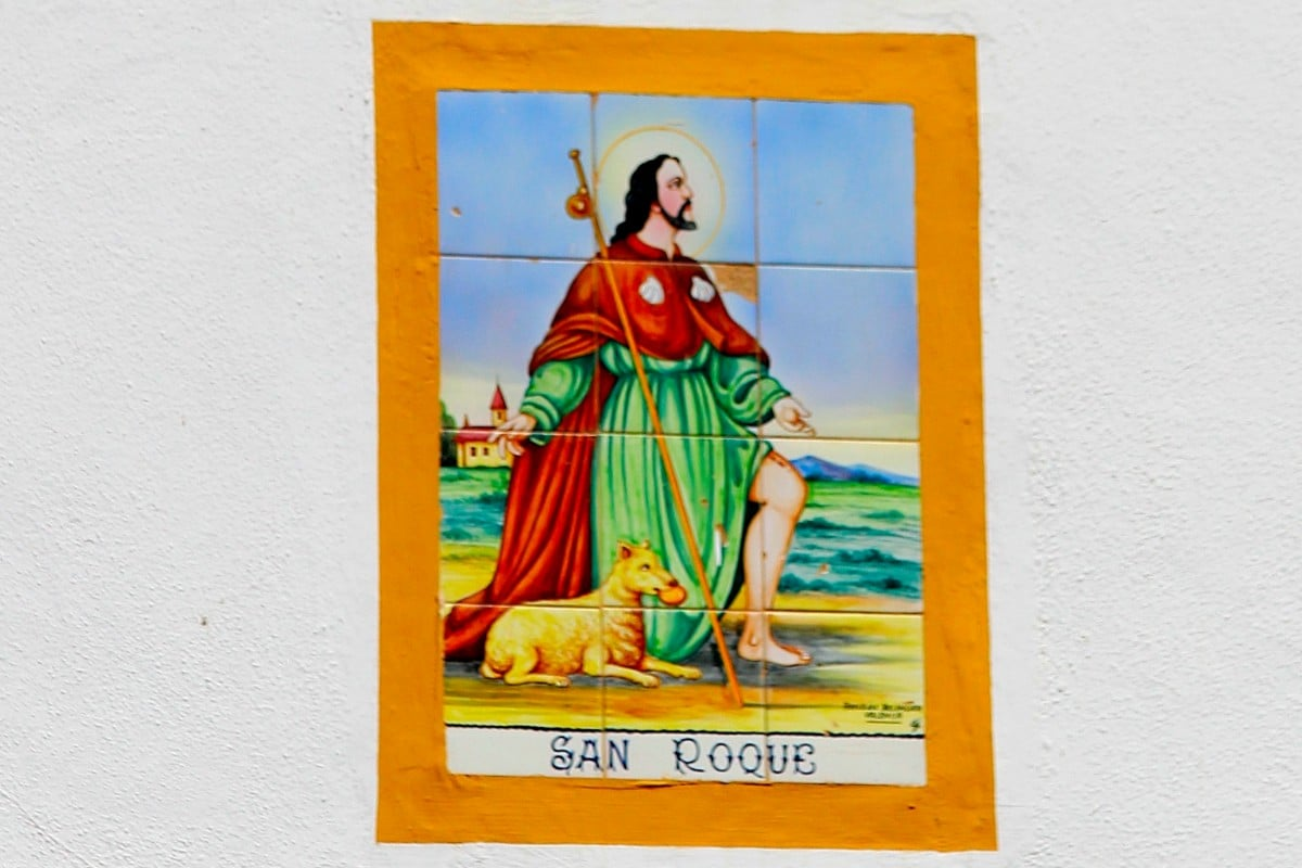 Imagen de San Roque. Foto: Cathopic.