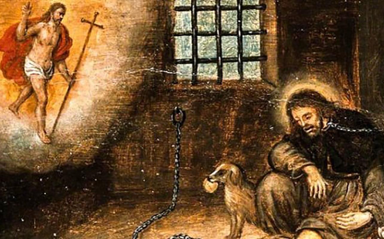 San Roque es patrono de quienes padecen enfermedades contagiosas y de quienes son acusados falsamente.