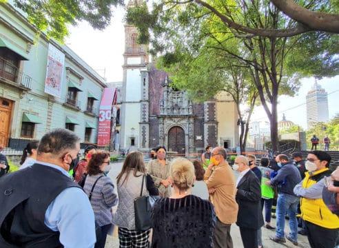 Secretaría de Cultura adelantará restauración de la Santa Veracruz