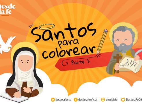 Dibujos de santos para colorear parte 2: una herramienta de catequesis