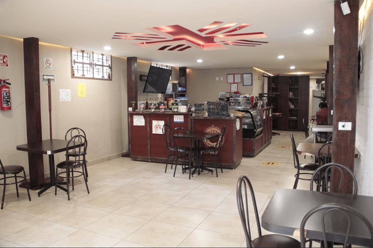 Cafetería de Cáritas emergencias. Foto Alejandro García