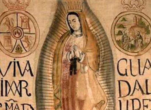 ¿Dónde está el estandarte de la Virgen de Guadalupe de Miguel Hidalgo?