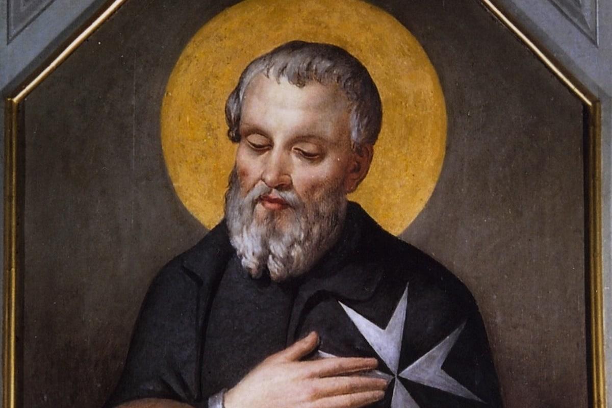 Fray Gerardo Sasso fue el fundador de la Orden de Malta.