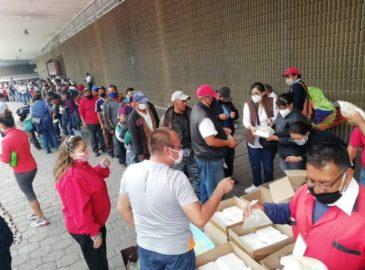 4 parroquias se unen para atender a los olvidados de Metro Observatorio