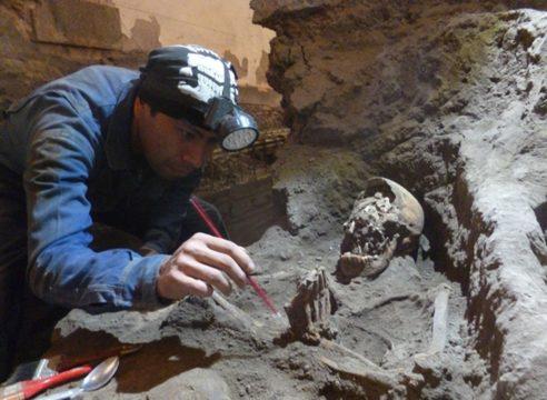 El INAH descubre los restos de la primera Iglesia de La Conchita