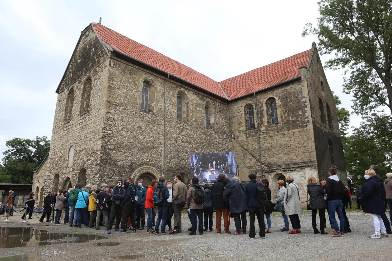Iglesia de San Burchardi en Halberstadt, Alemania
