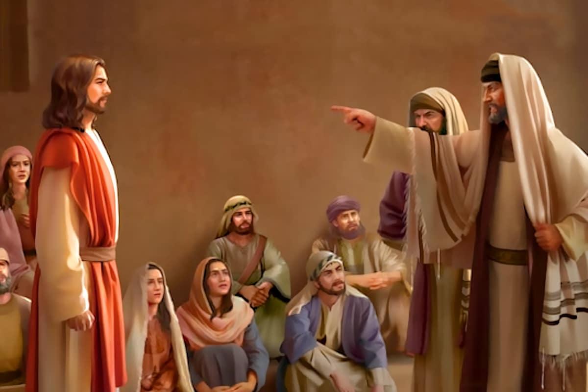 Los fariseos estaban en contra de las enseñanzas de Jesús.
