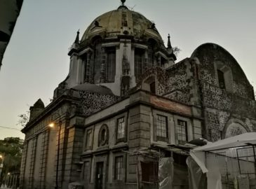 La iglesia de Nuestra Señora de Loreto, sin fecha de reconstrucción