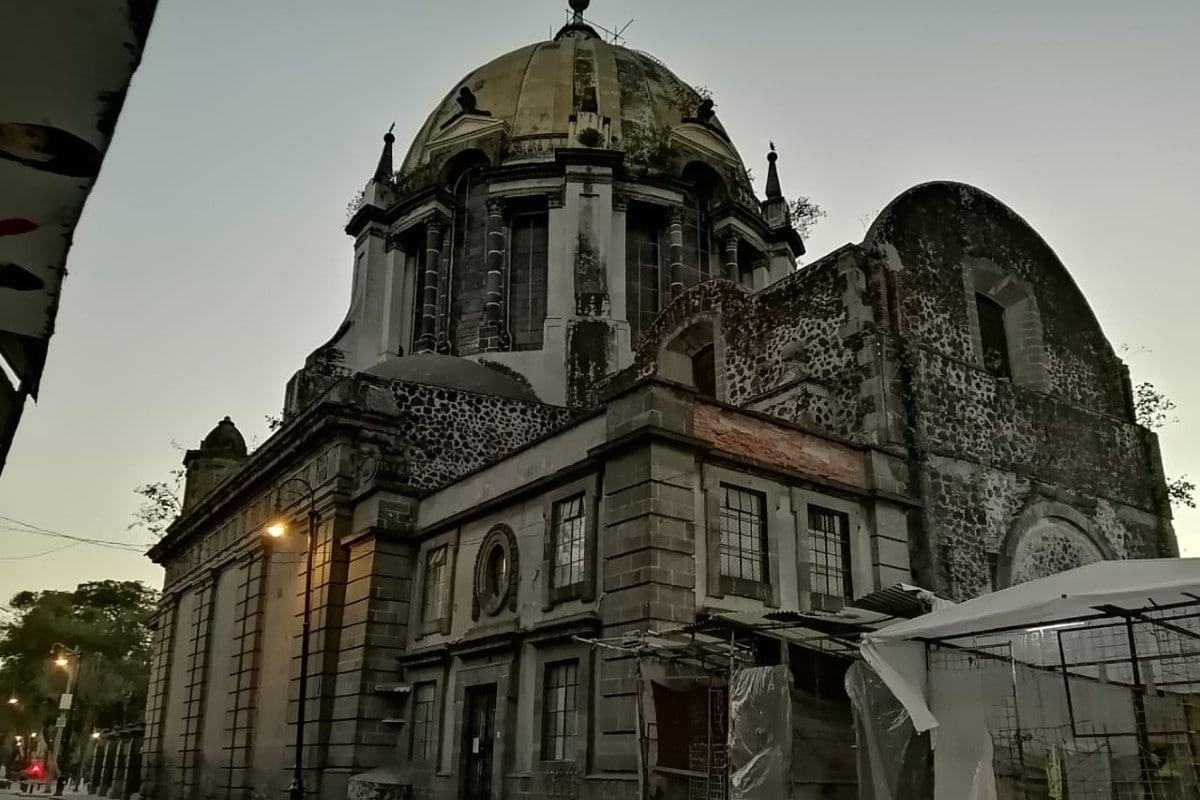Iglesia de Nuestra Señora de Loreto. Foto: Cortesía.