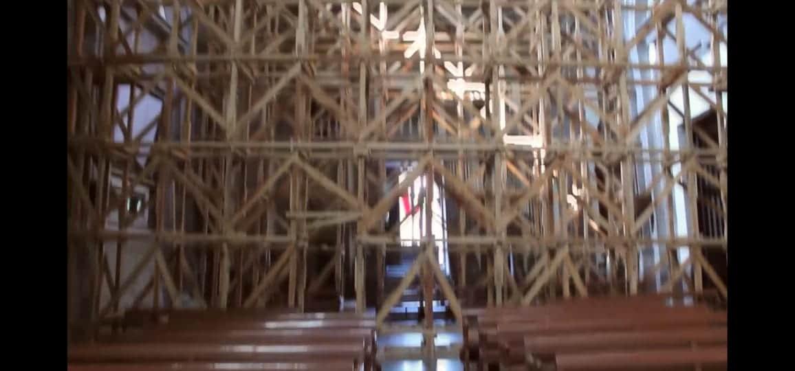 Interior del templo de Nuestra Señora de Loreto. Foto: Cortesía.