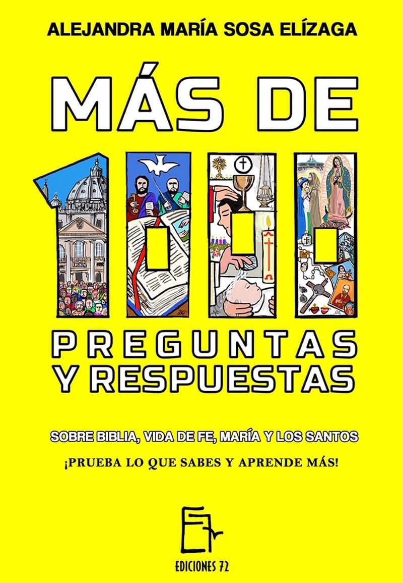 La portada de 'Más de 1000 preguntas y respuestas sobre Biblia, vida de fe, María y los santos'