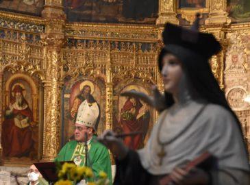 Celebran 50 años de Santa Teresa como Doctora de la Iglesia