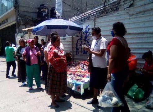 Esta religiosa mexicana es el 'ángel' de las familias otomíes de la CDMX