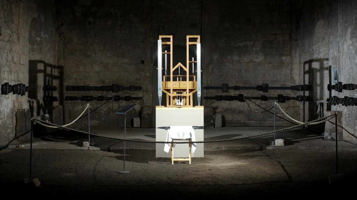 Órgano de John Cage donde se ejecuta la melodía