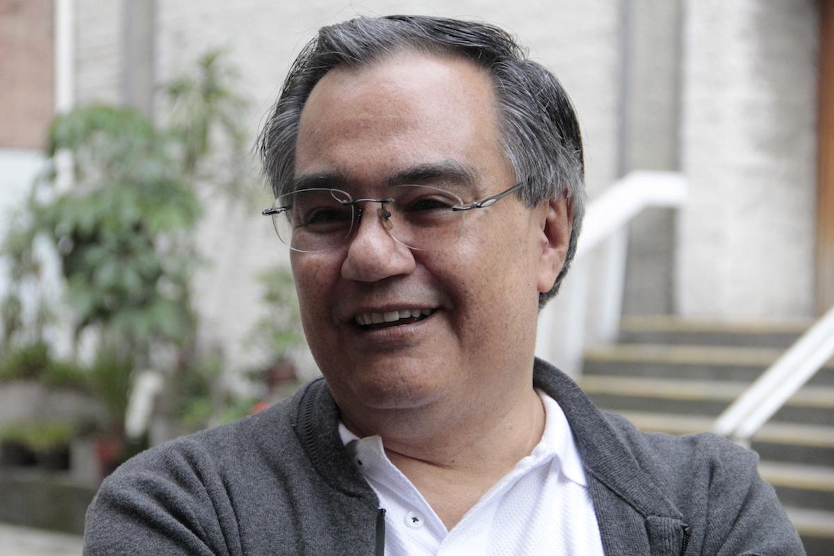 El p. Rubén Sánchez colabora en Cáritas Arquidiócesis desde hace más de 10 años. Foto: Alejandro García