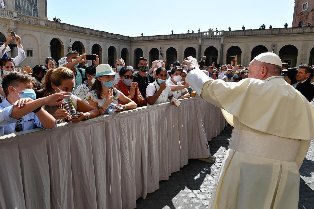 Papa Francisco en audiencia general. Foto: Vatican Media