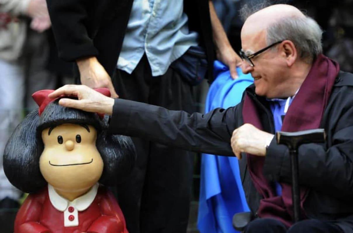 Quino, el humorista gráfico que creó a Mafalda, falleció este 30 de septiembre a los 88 años.