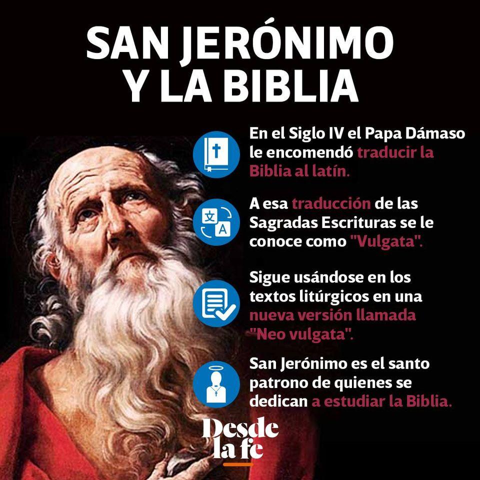 ¿Quién fue San Jerónimo?