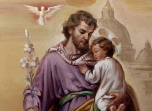 Transmitir a los hijos la fe y la confianza en Dios, a ejemplo de San José