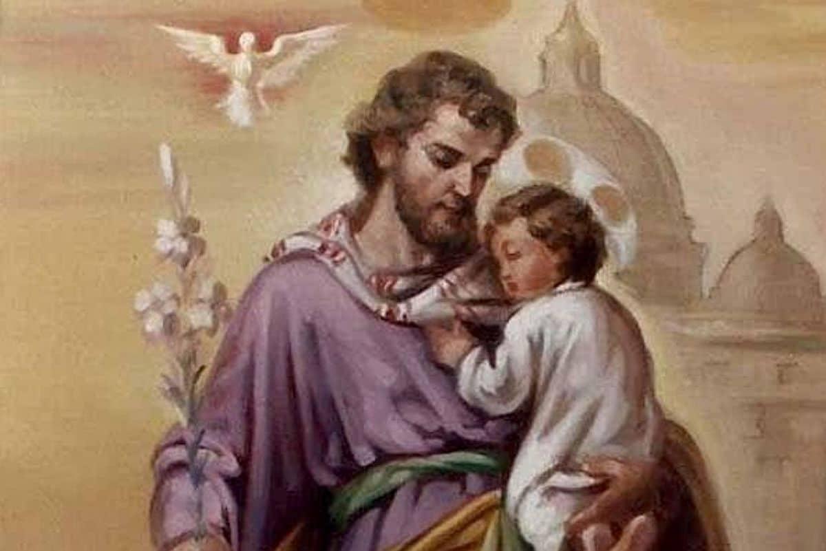De San José podemos aprender cómo hacer crecer a los hijos en la fe y el amor a Dios.