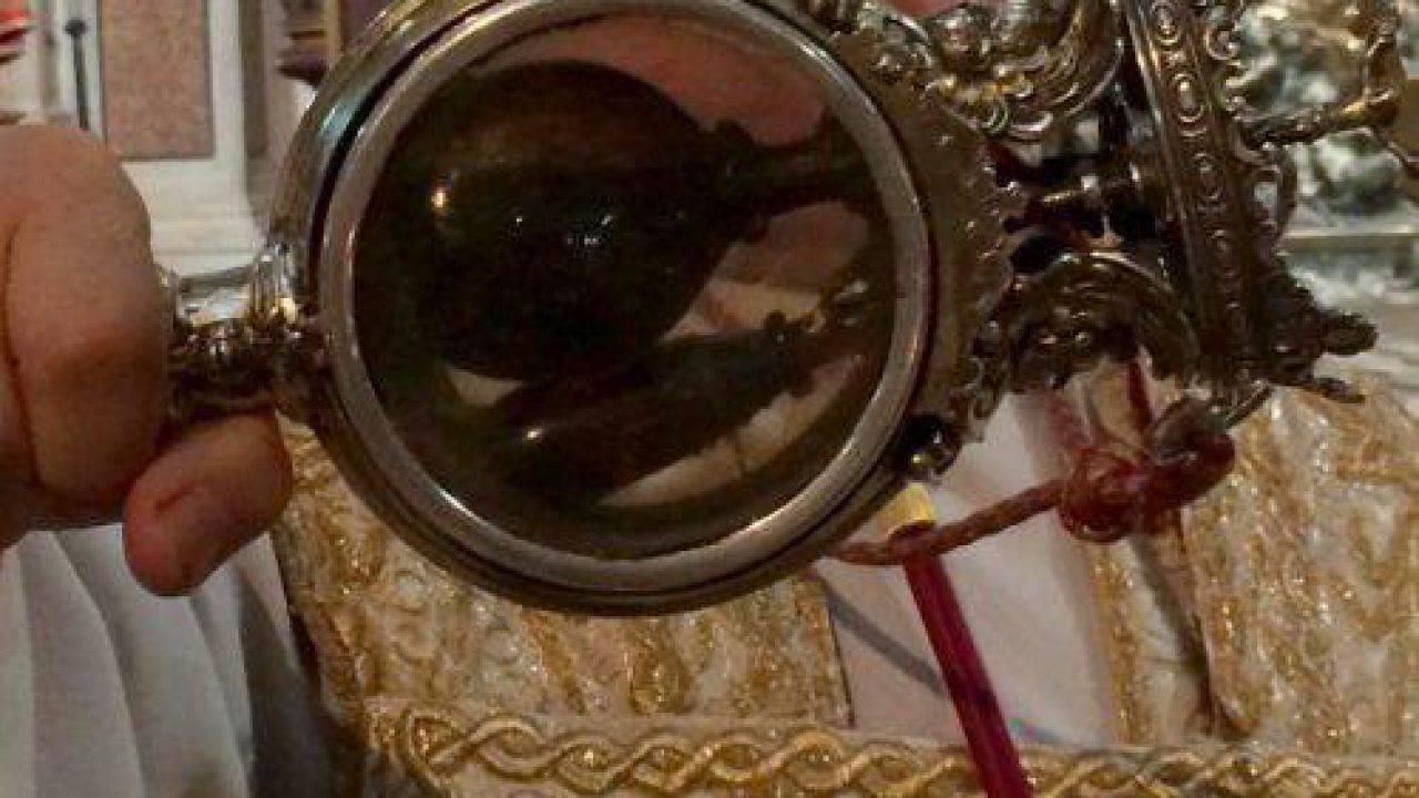 Sangre licuado de San Genaro.