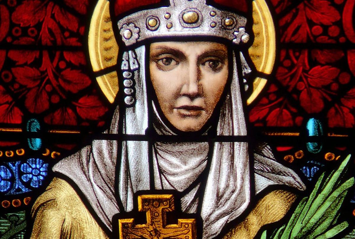 Santa Ludmila fue la abuela de san Wenceslao.