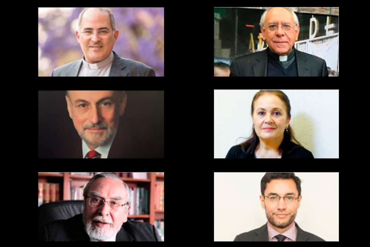 Los organizadores del Seminario Nacional de Liderazgo Político: Crisis y Reencuentro en el Bicentenario de México.