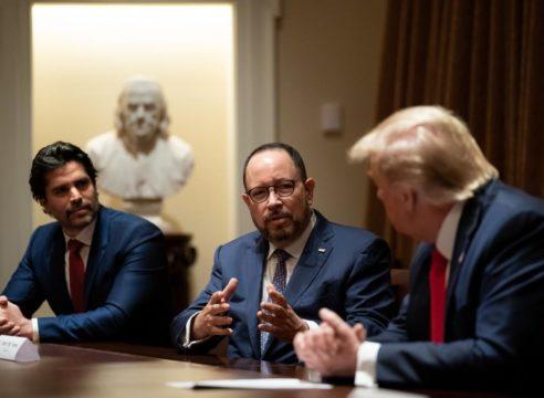 Eduardo Verástegui nominado por Trump para ayudar a hispanos
