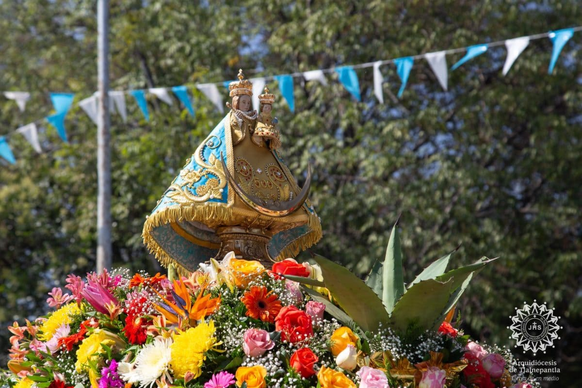 Nuestra Señora de los Remedios de Tlalnepantla. Foto: Arquidiócesis de Tlalnepantla.