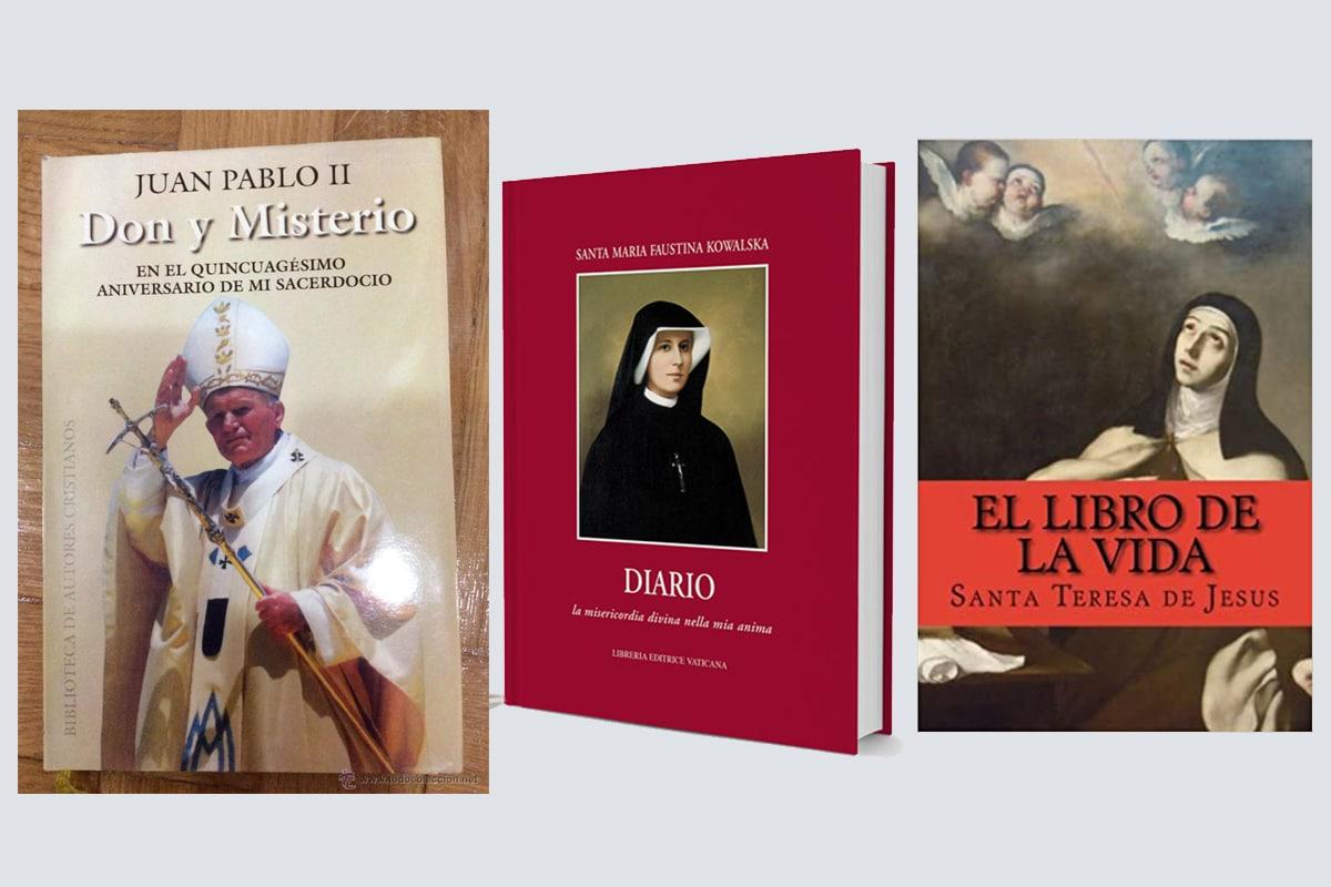 Autobiografías de santos que celebramos en octubre.