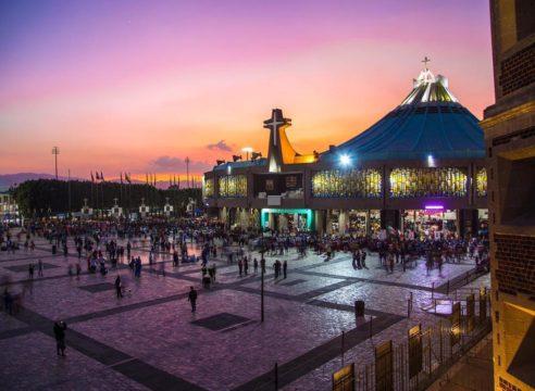 Basílica de Guadalupe, en el maratón mundial del rezo del Rosario