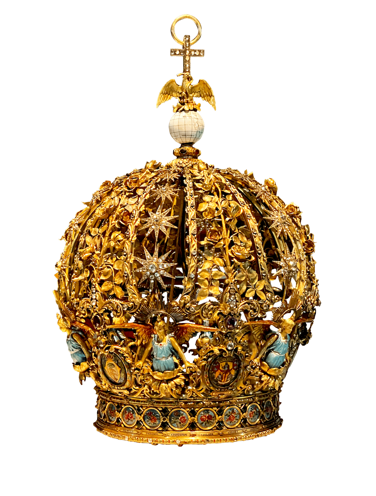 La corona de la Virgen de Guadalupe.
