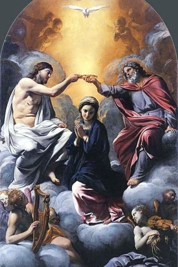 Coronación de la Virgen, de Giovanni Lanfranco