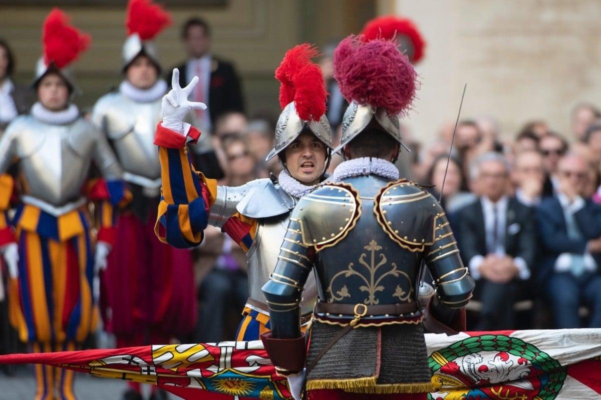 Guardia Suiza. Foto: Vatican Media.