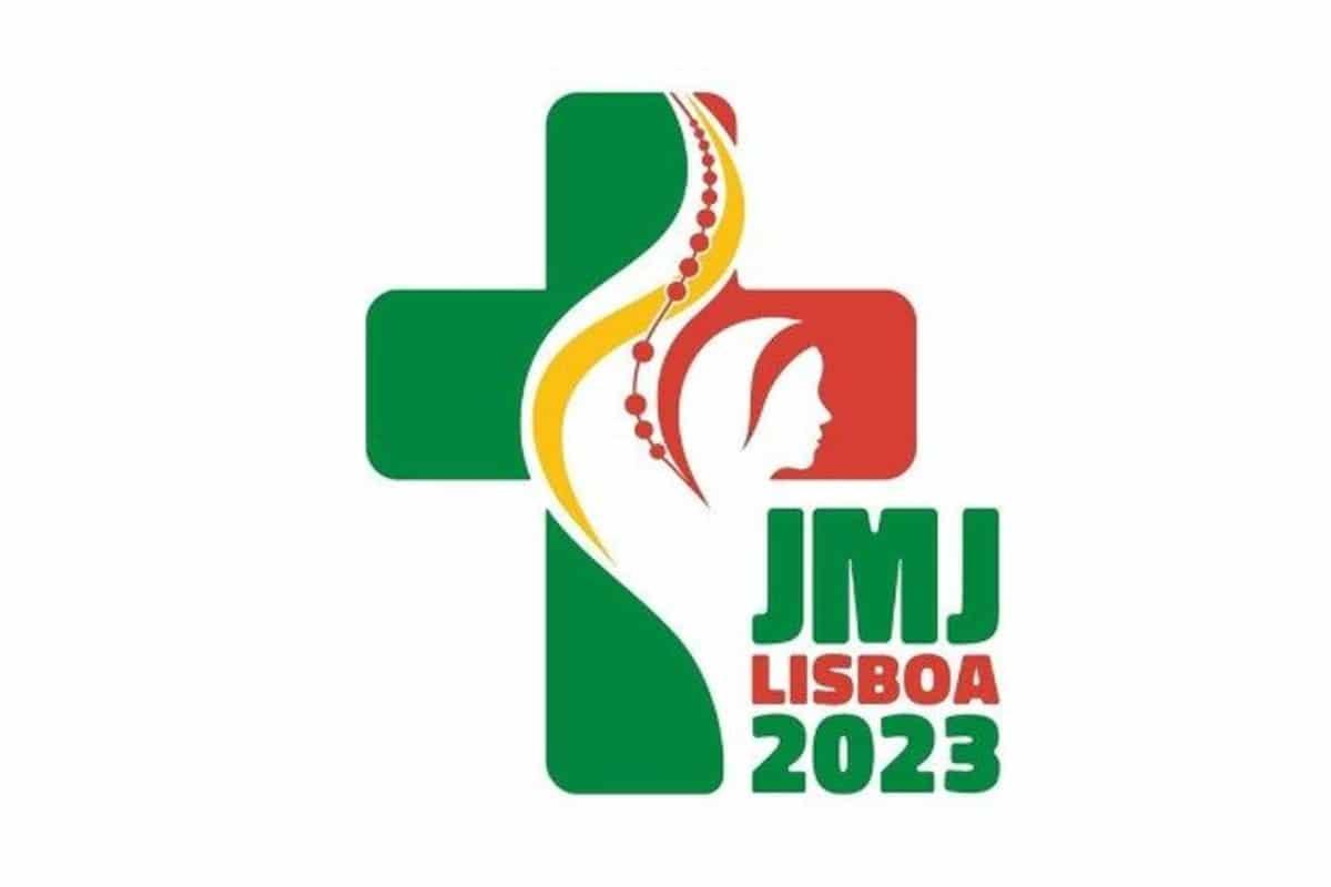 Logo oficial de la Jornada Mundial de la Juventud Lisboa 2023.