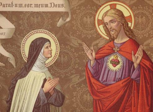 Santa Margarita Alacoque y la devoción al Sagrado Corazón de Jesús